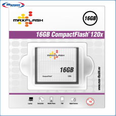 16GB Maxflash CF CompactFlash Card 120x (Typ I), Retail