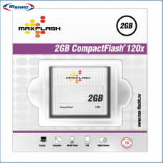 2GB Maxflash CF CompactFlash Card 120x (Typ I), Retail
